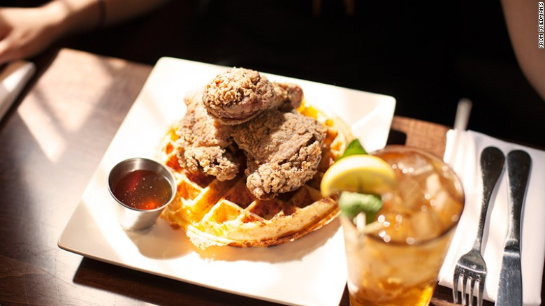 With four Friedman's locations from downtown to uptown, you're never far from incredible fried chicken and waffles. You'll have to arrange your own post-feed nap.