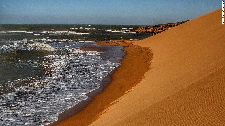 In La Guajira, desert dunes tumble straight down into the Caribbean.