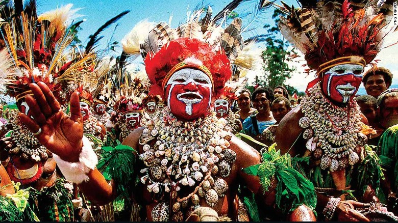 PNG's festivals are a highlight of any visit.