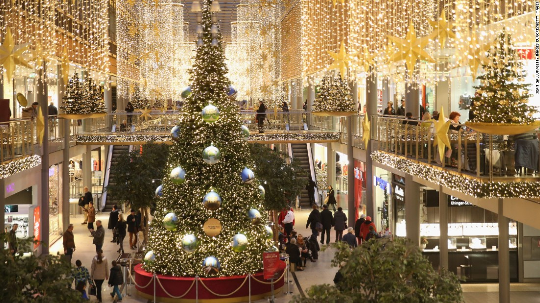 During the holidays, Berlin's big shopping centers play Snoopy to the country's quaint Christmas markets' Charlie Brown.