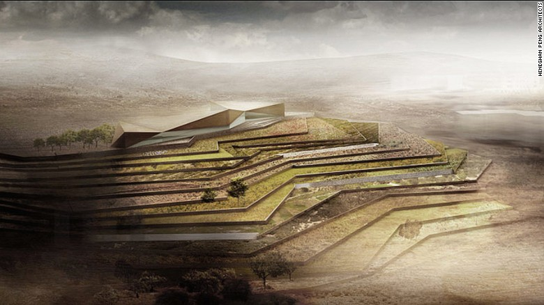 The Palestinian Museum, which rises above a terraced hill in the West Bank just north of Jerusalem, is a $30 million complex dedicated to Palestinian art and culture. It's due to open on May 15.