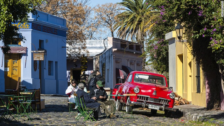 Colonia del Sacramento was Uruguay's first UNESCO World Heritage Site. It was founded in 1680 by the Portuguese on the Rio de la Plata.