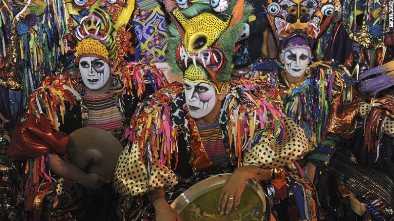Uruguay's two-month carnival celebration, which starts mid-January, is largely based on candombe, dance and rhythms devised by African slaves in the 19th century.