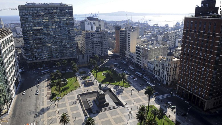Home to about half the country's population, the pace is sedate in Uruguay's capital Montevideo, where colonial architecture rubs shoulders with low-rise skyscrapers and 15 miles of beach-side rambla.