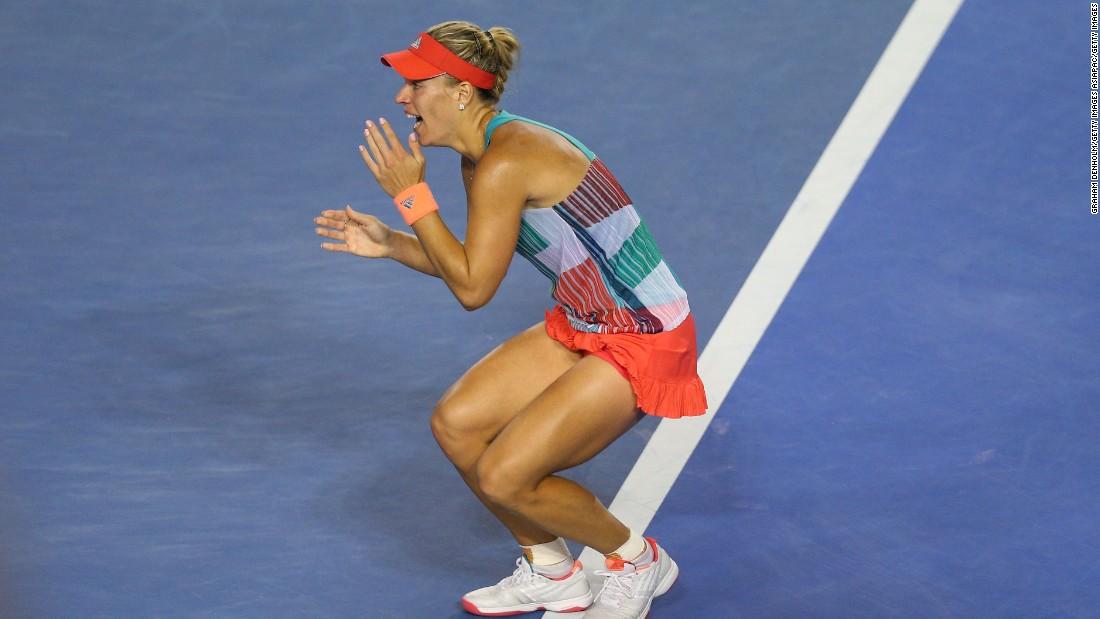 Australian Open 2016: Angelique Kerber stuns Serena Williams to win title