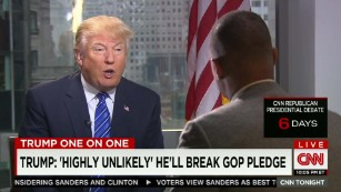 CNN's Don Lemon goes one-on-one with Donald Trump