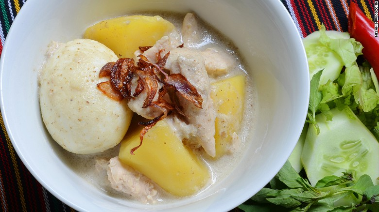 Once only a Ramadan necessity, opor ayam -- braised chicken in coconut milk -- is sold on a daily basis nowadays.
