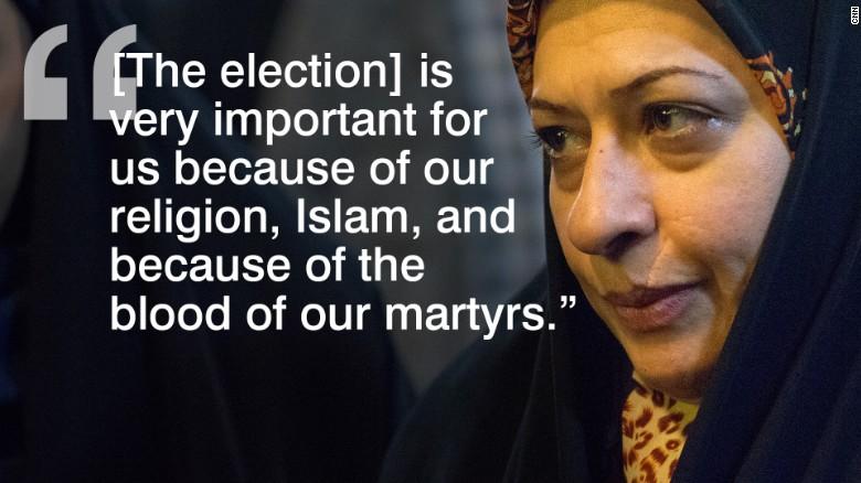 Iranian voters 6