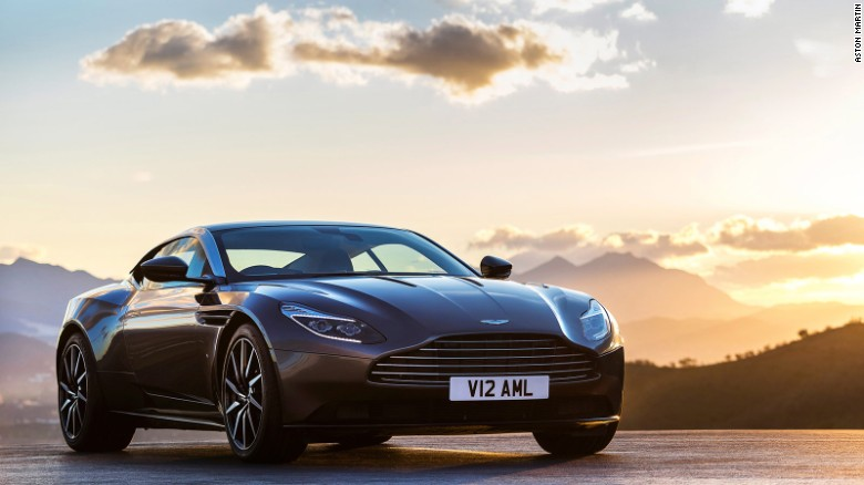 """Aston Martin's latest creation, the DB11, has been called """"the most important car in the firm's 103-year existence"""" by Andy Palmer, the company's chief executive. Launched at the Geneva Motor Show in Switzerland, the four-seat sports GT costs a cool £155,000 ($217,000)."""