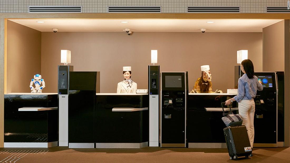 Image result for robot hotel