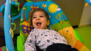 Lavie Parush, 2, suffered dozens of seizures a day before his parents started giving him medical cannabis.
