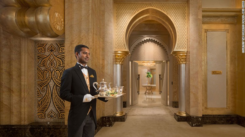The 24-hour butler should have an easy job given how well equipped the Palace Suite is.