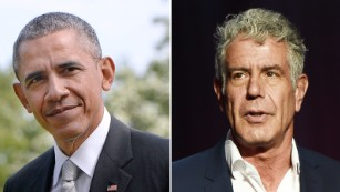 Barack Obama, Anthony Bourdain dine in Vietnam