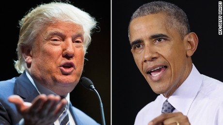 Donald Trump calls Obama 'founder of ISIS'