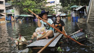 Photos: Heavy flooding in Thailand