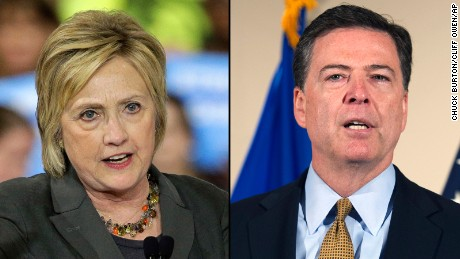 Thumbnail for FBI director: Hillary Clinton 'extremely careless' but no charges ...