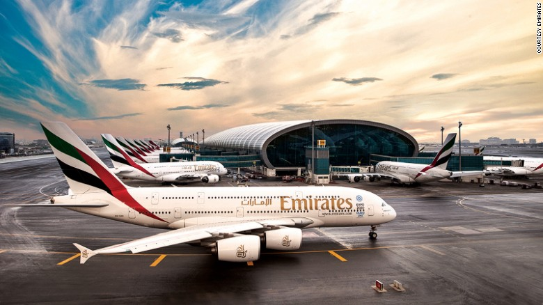 Emirates was named the best airline in this year's Skytrax awards -- a big leap from last year's fifth place. It's the fourth time the Dubai-based carrier has won the award.