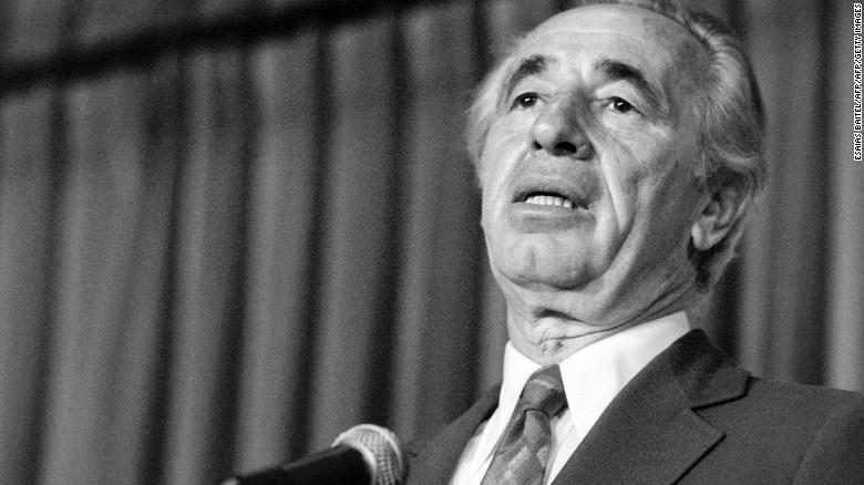 Peres was 93.