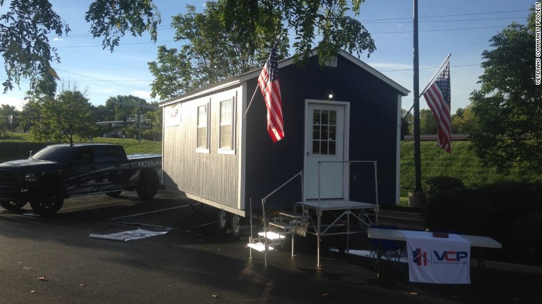The Veterans Community project hopes to begin housing veterans in March.