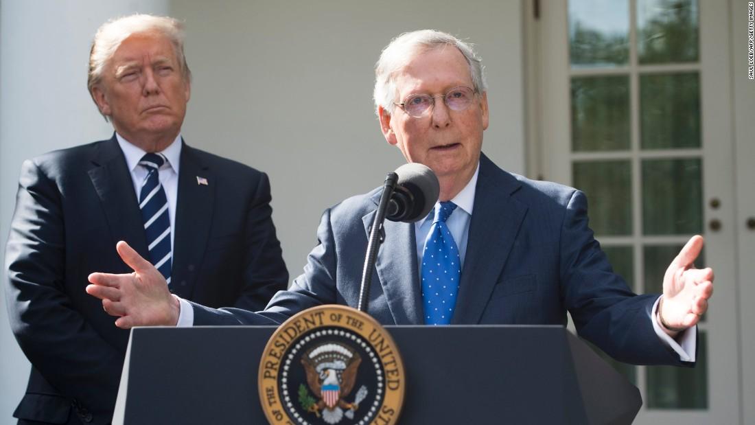 McConnell dismisses Trump attacks on himself, GOP