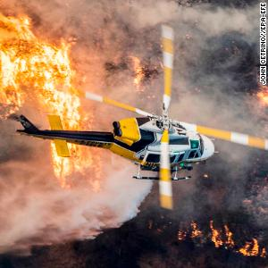 Out-of-control fires devastate California