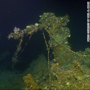 US ship that fired first WWII shots found