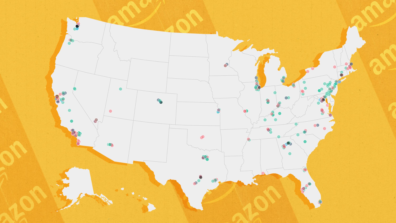 Watch how Amazon spread across the US - CNN.com