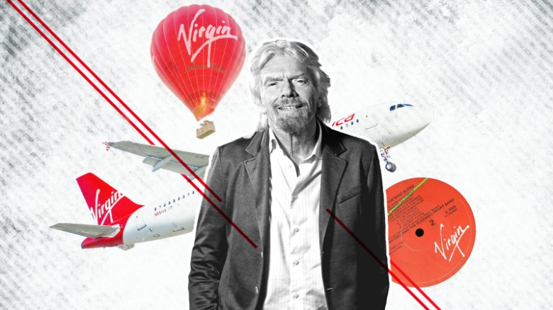 He started out with a record company in 1970. Now Richard Branson is launching rockets into space