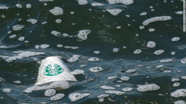 Forget plastic straws. Starbucks has a cup problem