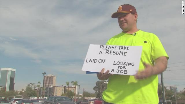 Laid Off Phoenix Man Gets Numerous Job Offers After Handing Out