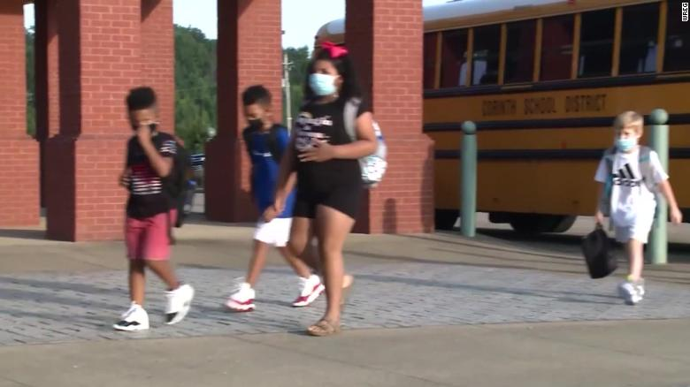 COVID: SAFETY CONCERNS ABOUT START OF SCHOOL YEAR (4AMET)