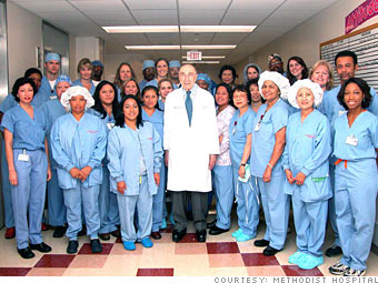 100 Best Companies to Work For 2010: Methodist Hospital