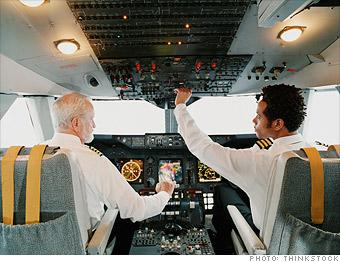 best jobs, career change military, pilot