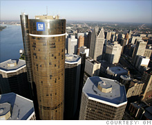 CEO Fritz Henderson says GM has no plans to move its headquarters out of downtown Detroit.