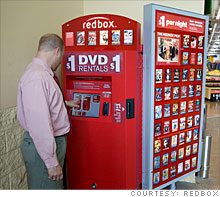 $1 DVDs: Boost to Coinstar but could studios kill Redbox