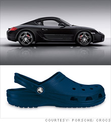 dba73f564 Porsche starts legal spat with Crocs over Caymans brand - Nov. 10