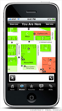 mall maps is one of several iphone apps that aim to give shoppers an edge on the black friday