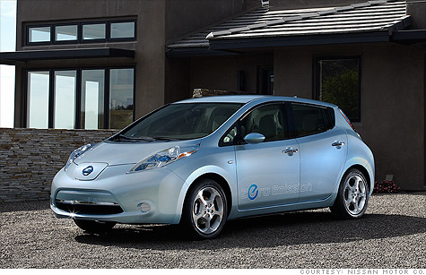 Nissan Leaf Electric Car Will Cost 25 000
