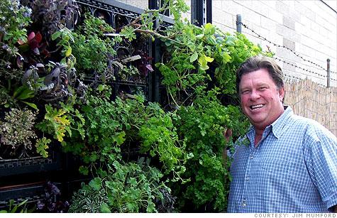 The entrepreneur behind Mario Batali\'s edible herb wall - Apr. 12, 2010