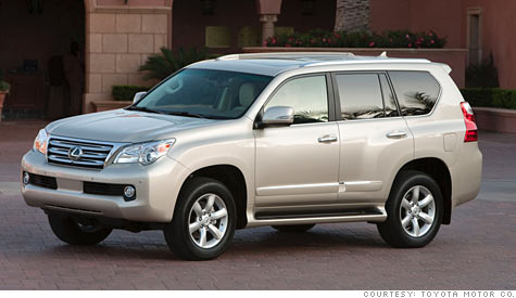 Toyota to test all its SUVs after Lexus GX 460 warning - Apr