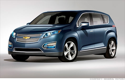 Gm Unveils Suv Version Of The Volt