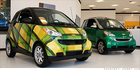 Smart Cars In Any Color You Want Really