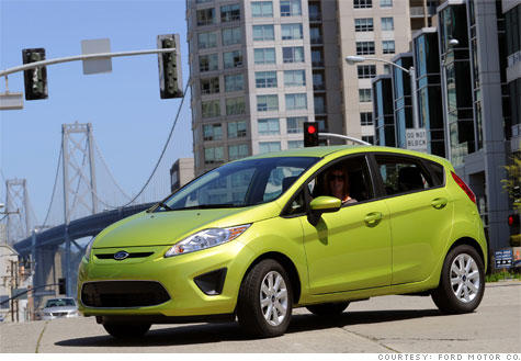 Ford Fiesta Earns Top Safety Award Aug 25 2010