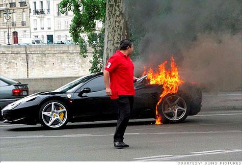 Ferrari Recalling 458 Italia After Sudden Car Fires Report Sep