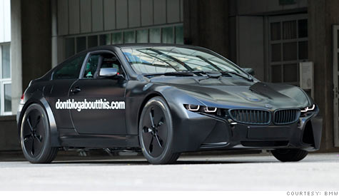 Delightful New BMW Plug In Hybrid Sports Car On The Way