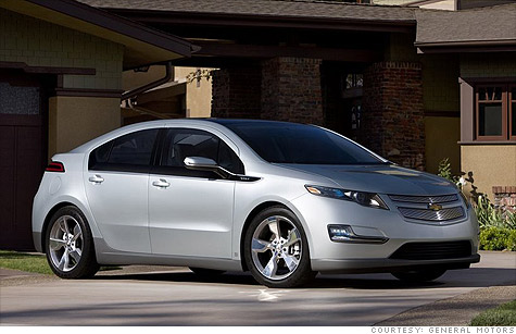 Chevy Volt Takes Green Car Of The Year Award