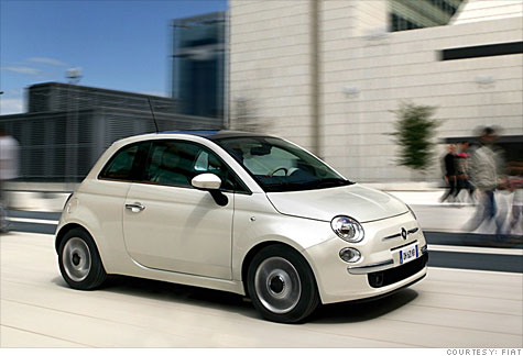 fiat hopes its 500 becomes the new mini cooper - nov. 24, 2010