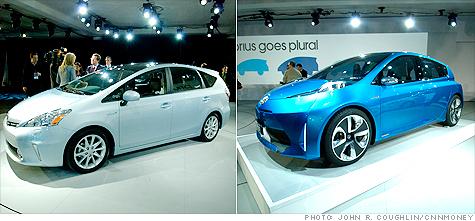 Toyota Unveils Prius Station Wagon