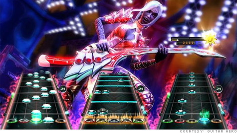 Guitar Hero gets axed, Activision shares move lower