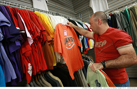 Soaring cotton prices could result in thinner T-shirts, '